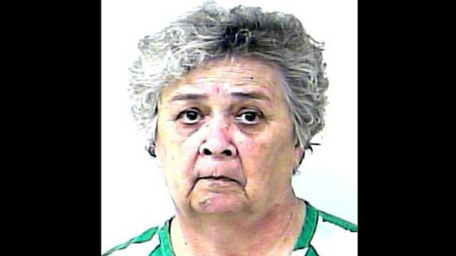 Edwina Markowski is accused of assaulting her wheelchair-bound husband, a 73-year-old man who also requires a breathing machine.
