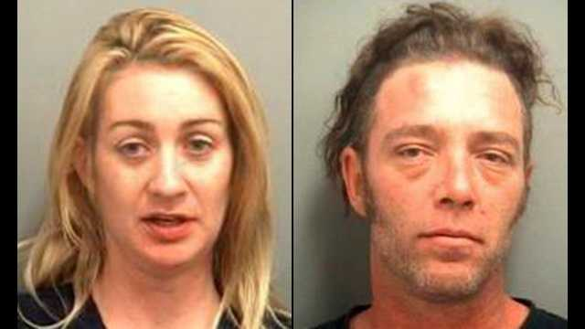 Amanda Marsh and Perry Buesking are accused of going out for drinks and abandoning her kids&#x3B; and then when confronted, Marsh allegedly denied that the two young boys were hers.