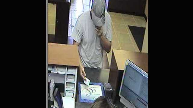 Police say this man robbed the Chase branch in Palm Beach Gardens.
