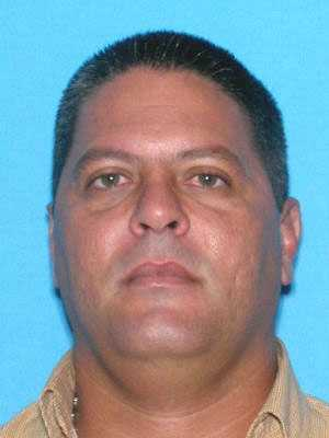 Rolando Medero is wanted on 93 counts trafficking in contraband legend drugs, three counts conspiracy to traffic in contraband legend drugs, one count conspiracy to commit RICO, two counts organized fraud and two counts money laundering. He was last seen in the Davie area.