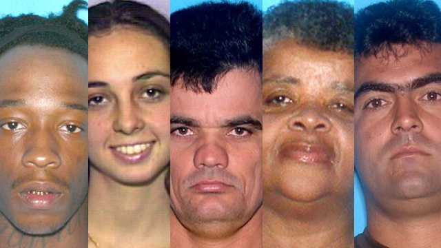 According to the Florida Attorney General, the following 60 people are the state's most wanted. Anyone who has seen these individuals is asked to call law enforcement. Do not attempt to apprehend or detain them.