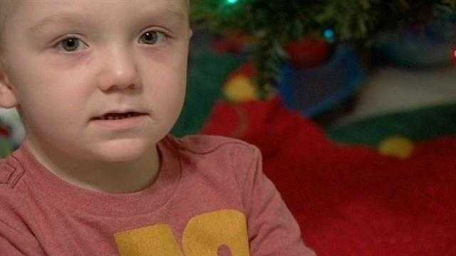 A fund-raiser on Clematis Street aimed to help a 3-year-old boy battling leukemia Wednesday night.