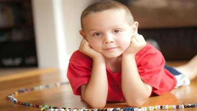 Nathan Norman, 6, is battling terminal brain cancer.