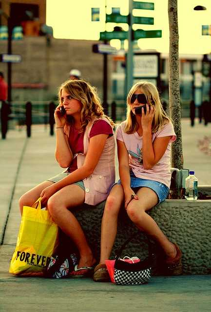 Quit talking on your cell phone so much. (Photo: Pink Sherbet Photography/flickr)