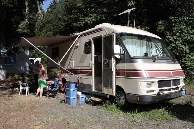 Take the family on a cross-country trip in an RV. (Photo: goodiesfirst/flickr)