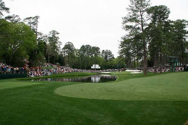 Get a ticket to the Masters. On Sunday. (Photo: johntrainor/flickr)