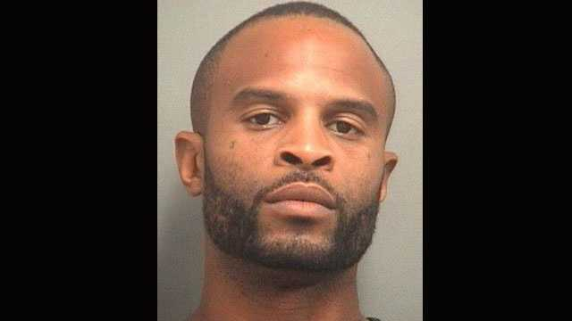 Theodore Simpson Jr. is accused of robbing the Bank of America branch in Lake Park.