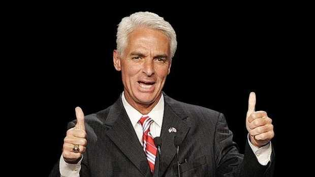 Former Republican Gov. Charlie Crist is now a Democrat.
