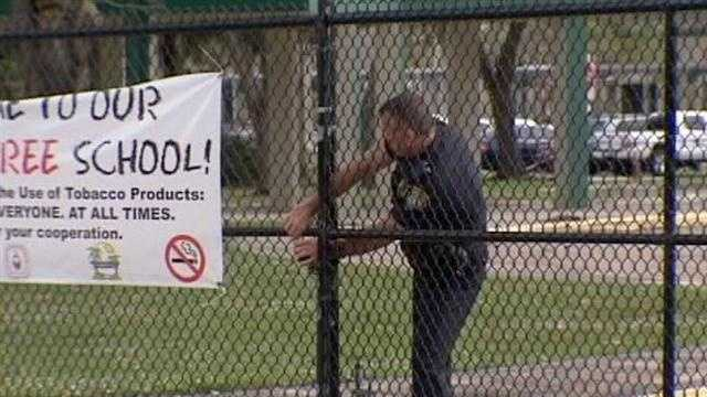 Palm Beach County Superintendent Wayne Gent and school Police Chief Lawrence Leon want to reassure parents that schools in the district are safe.