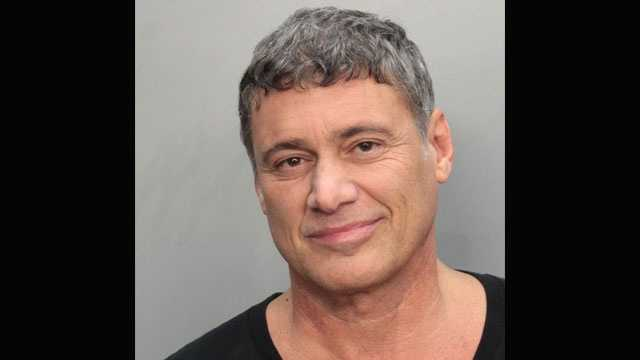 Steven Bauer was arrested on a charge of driving with a suspended license.