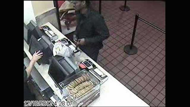 Deputies are trying to identify this man who robbed a McDonald's in Wellington.