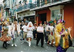 Go to Mardi Gras. (Photo: infrogmation/flickr)