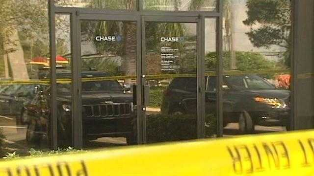 Jupiter bank robbery Chase