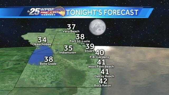 WPBF 25 severe weather expert Mike Lyons says a wind chill advisory is in effect during the overnight hours.