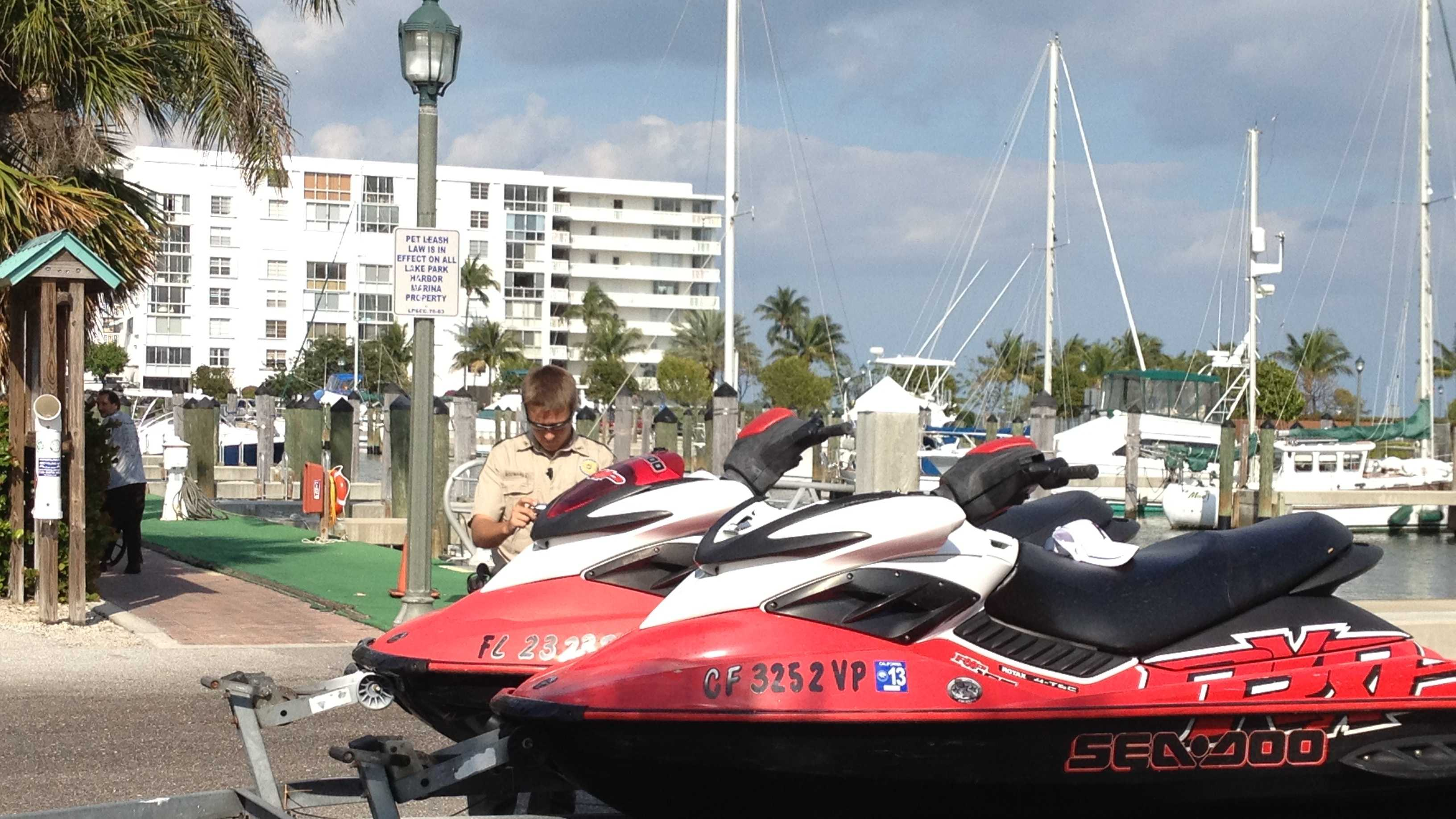A teenager was taken to St. Mary's Medical Center after a Sea Doo accident.