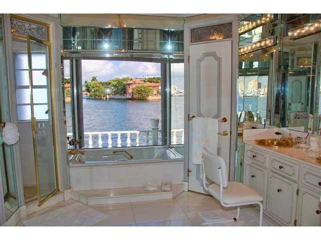A bathroom so elegant, it's romantic. This is one of 7 bathrooms.