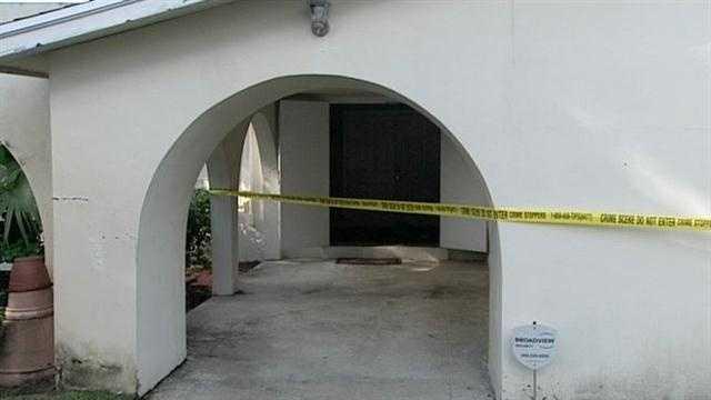 St. Paul AME Church crime scene