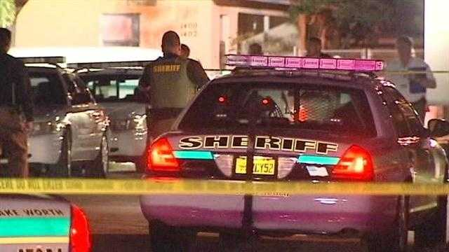 Palm Beach County Sheriff Ric Bradshaw says his deputies were forced to shoot and kill a knife wielding woman who was threatening to kill her boyfriend.