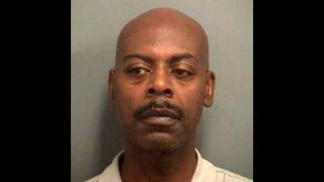 Richard Emanuel is accused of attacking a pastor at a West Palm Beach on Sunday.