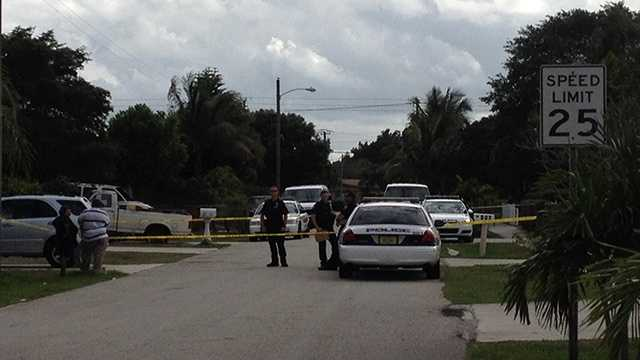 Police in Delray Beach are investigating a shooting involving two men that stemmed from an argument over a woman.