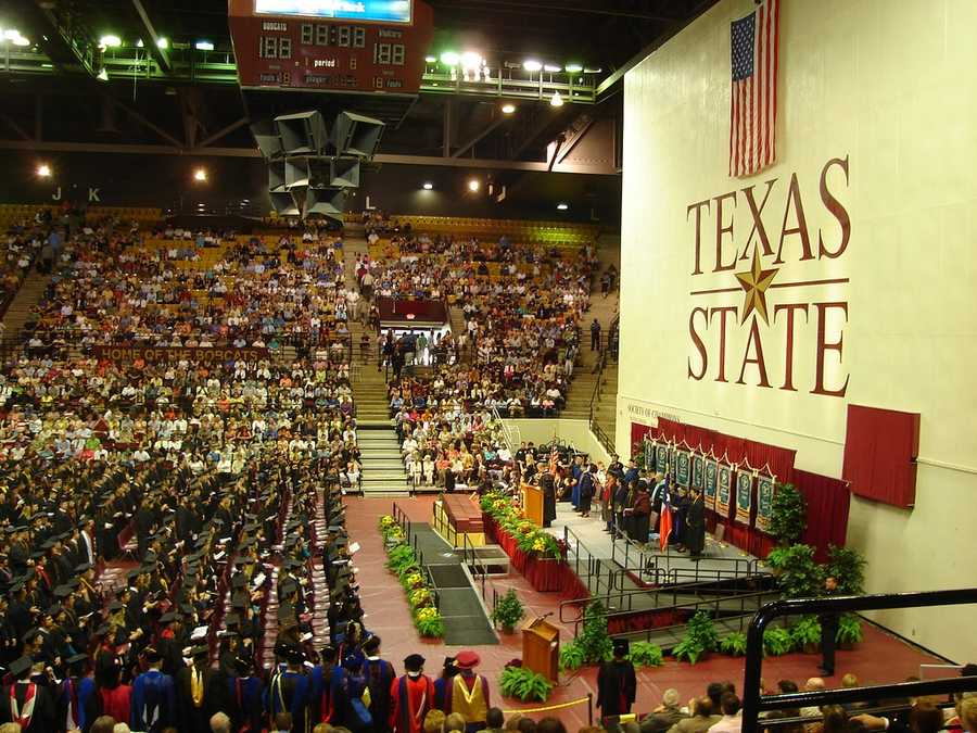 No. 10) Texas State University, San Marcos