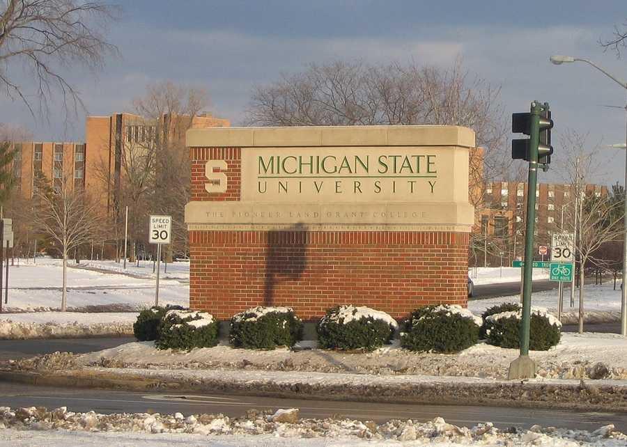 No. 16) Michigan State University, East Lansing