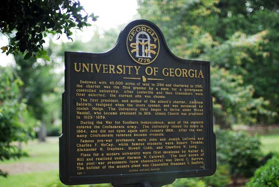 No. 8) University of Georgia, Athens