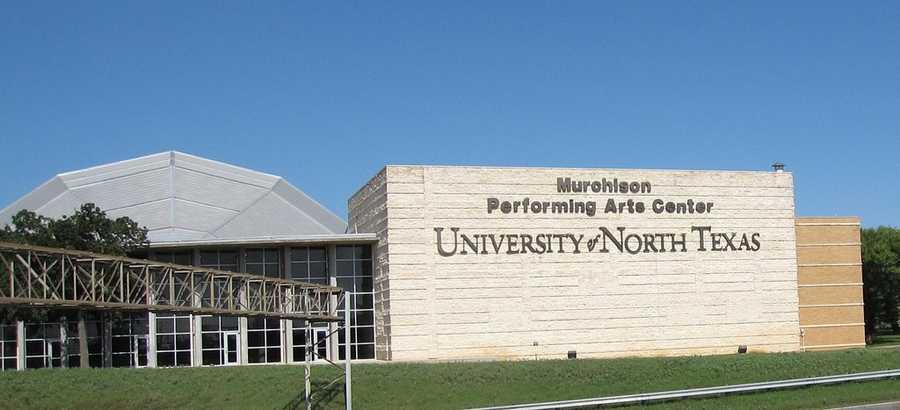 No. 13) University of North Texas, Denton