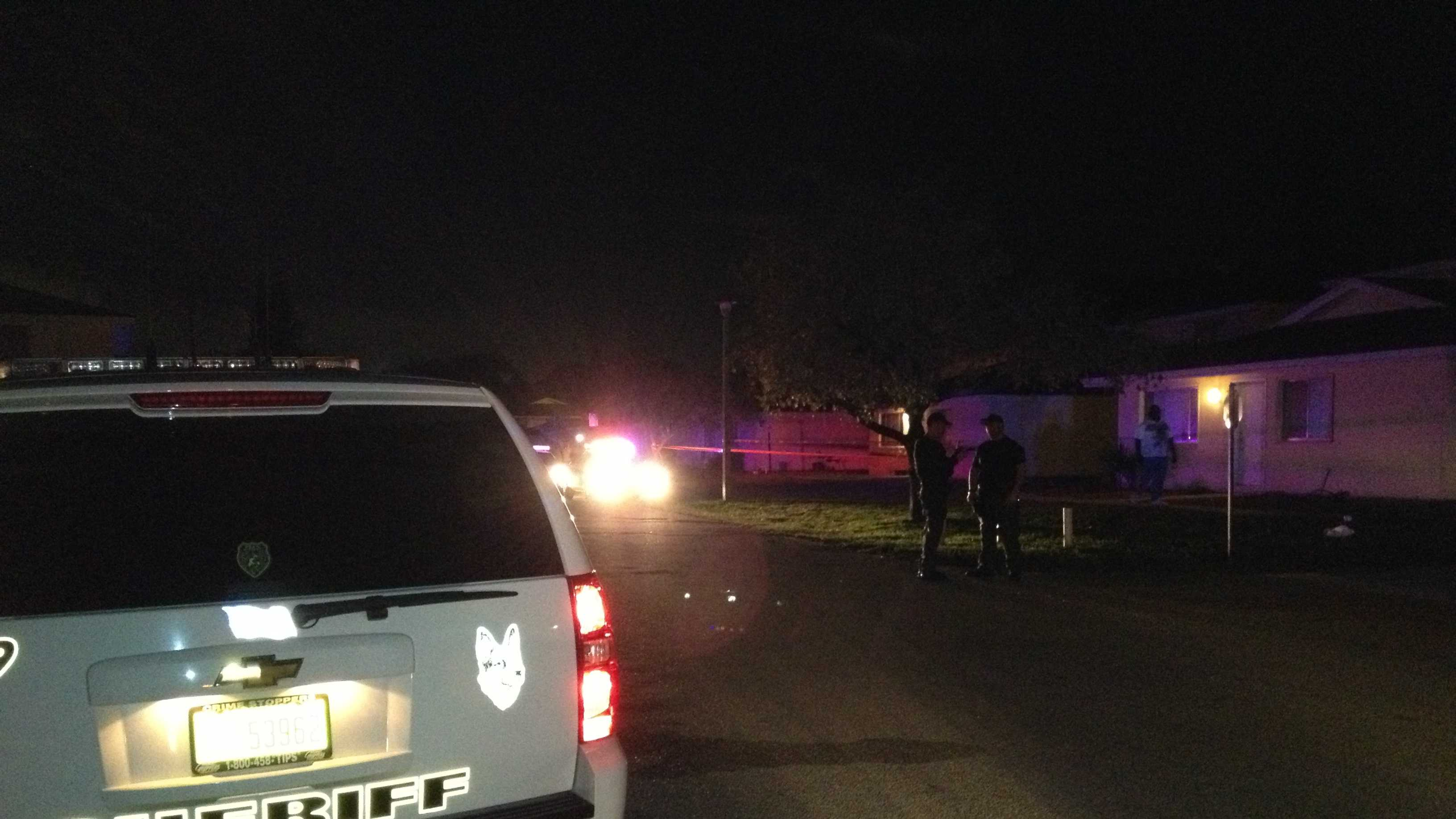 Two people were shot Wednesday night in Mangonia Park.