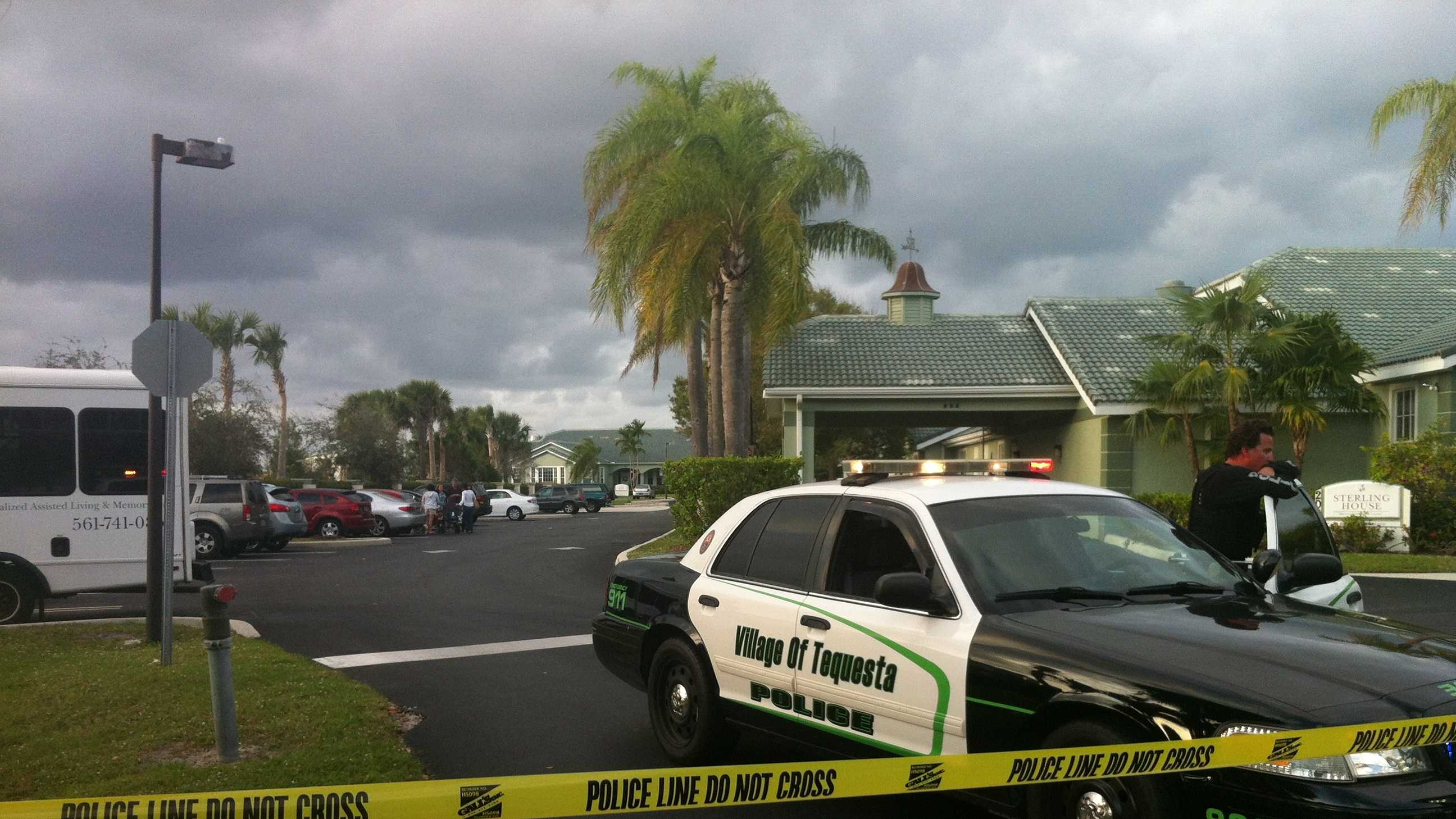 A man and woman were found shot to death at a Tequesta nursing home.