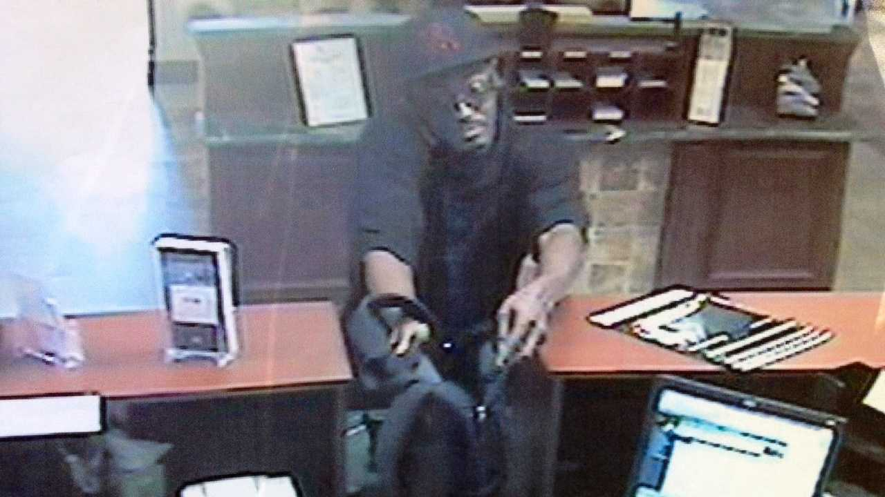 Detectives say this man robbed the Floridian Community Bank in Wellington.