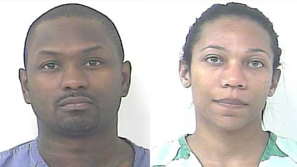 Norman Bagley and wife Deidre Reynolds were arrested in Port St. Lucie.