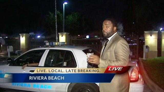 Police are investigating a shooting and stabbing in Riviera Beach.