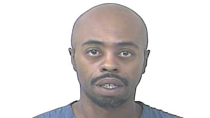 Gernard Clark was arrested on a charge of failing to register an instant message name.