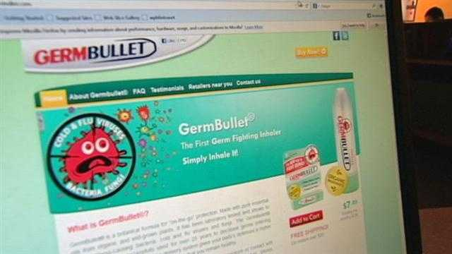 GermBullet website