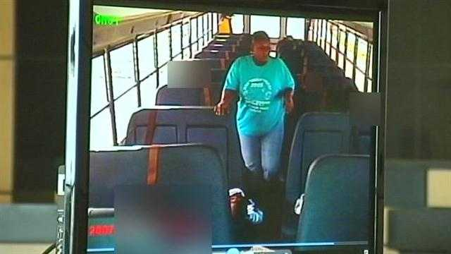 School bus attendant on video of rape