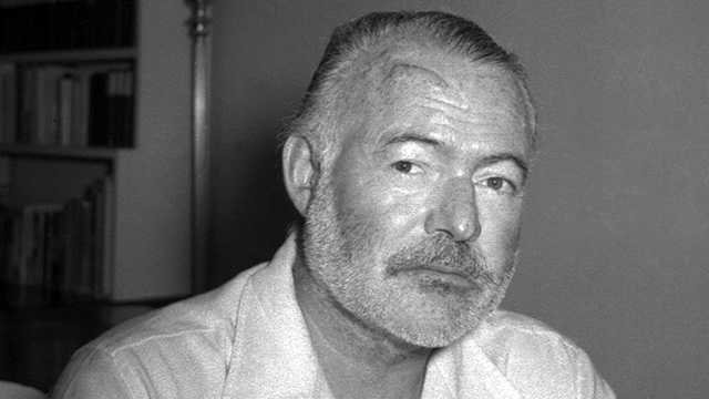 Ernest Hemingway (Photo: AP Graphics Bank)