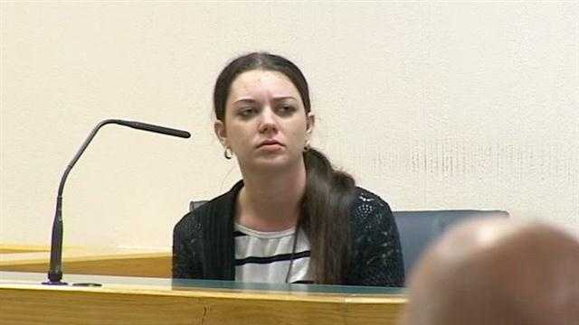 "Sarah Diodato testifies about her prescription pill addiction in her husband's Craigslist ""companionship"" trial."
