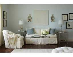 Sitting area in the master suite.