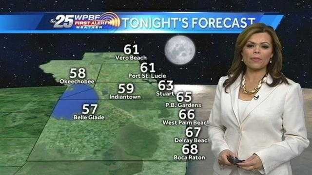Felicia says warm temperatures are expected Wednesday and the trend should continue into the weekend.