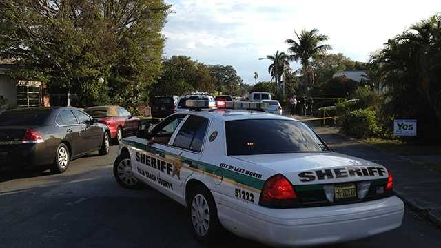 Police were investigating what they're calling a murder-suicide in Lake Worth late Wednesday afternoon. (Photo: Ari Hait/WPBF)