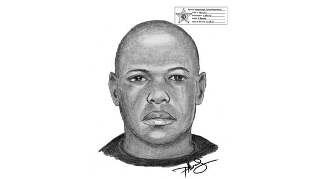 This is a sketch of the man who tried to kidnap a 14-year-old girl in Greenacres.