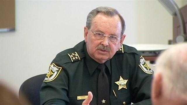 Sheriff Ric Bradshaw touches on gun control