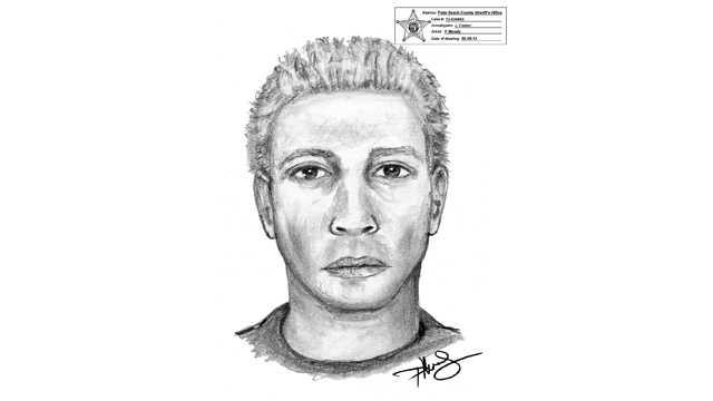 Psychic Center robber sketch
