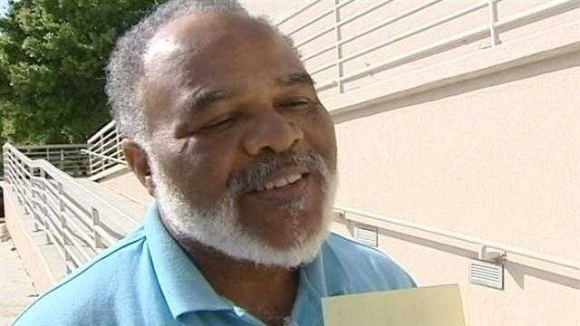 Clarence Freeman speaks exclusively to WPBF 25 News after leaving the Palm Beach County Jail.