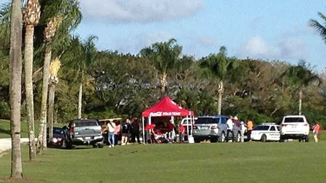 A friend of a man who plays polo for Coca-Cola was kicked by a horse. (Photo: Ari Hait/WPBF)