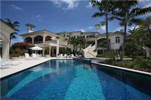Spectacular pool steps from the ocean and intracoastal.