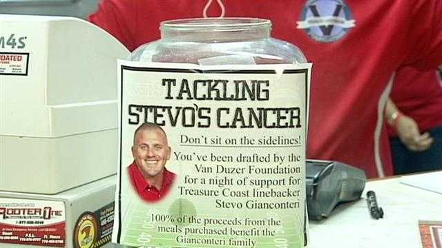 Big Apple Pizza holds a fundraiser for a Fort Pierce employee who is battling cancer.