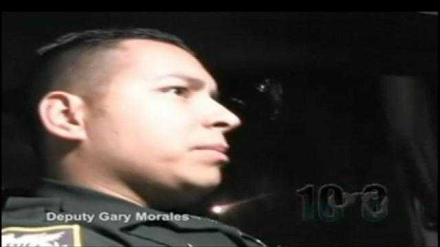 Sgt. Morales is shown here in this 2008 Youtube video depicting a night on the job in St. Lucie County, Fla. Take a look at pictures of other law-enforcement officers who have died in the line of duty this year. (All photos and information from nleomf.org)