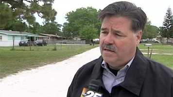 "St. Lucie County Sheriff Ken Mascara said ""nothing these deputies face day in and day out is routine."""